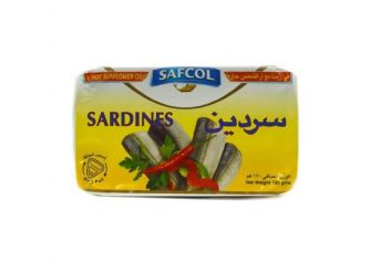 Safcol Sardine in Hot Sunflower Oil