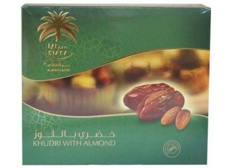 Al Alwani Dates Khudri with Almond
