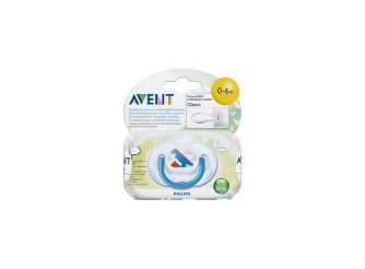 Avent Decorated Soother 0-6m
