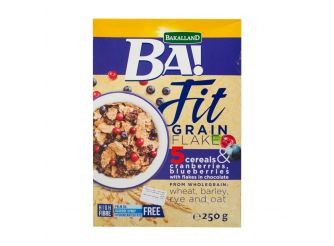 BA! Fit Grain Cranberry & Blueberry Cereal