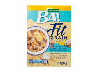 BA Fit Grains Banana Coconut Flakes Cereal