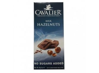 Cavalier Milk Chocolate Tablets with Hazelnuts