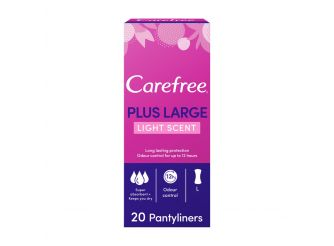 Carefree Plus Large Panty Liners