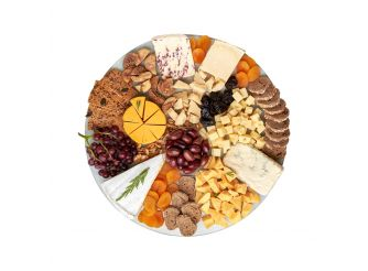 Gourmet Round Cheese Platter -  Assortment 1 (Medium)