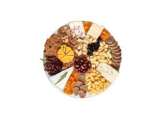 Gourmet Round Cheese Platter - Assortment 1 (Small)
