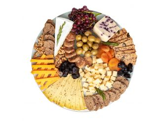 Gourmet Round Cheese Platter - Assortment 2 (Large)