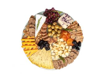 Gourmet Round Cheese Platter - Assortment 2 (Medium)