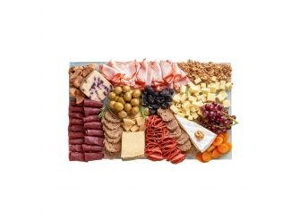 Rectangle Cheese & Cold Cuts Platter - Medium
