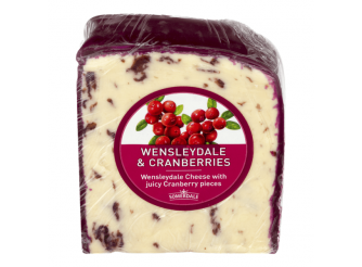 Somerdale Wensleydale & Cranberries Cheese