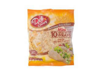 Deli Sun Mini Whole Wheat Wraps