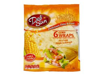Deli Sun Corn Tortilla Wraps