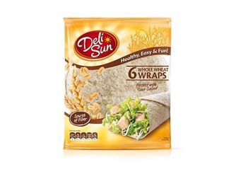 Deli Sun Whole Wheat Tortilla Wraps