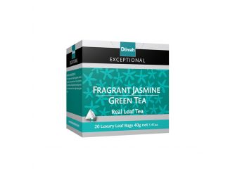 Dilmah Exceptional Jasmine Green Tea