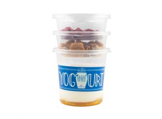 Gourmet Greek Style Yogurt with Honey, Muesli & Berries