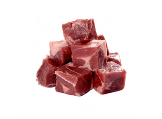 Frozen Australian Bone-in Leg of Lamb Cubes