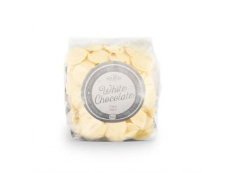 Gourmet Real Belgian White Chocolate Coins