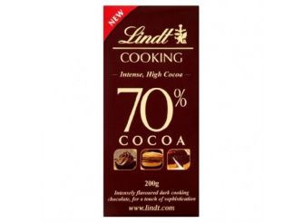 Lindt Cooking Dark Cooking Chocolate 70% Cocoa Intense