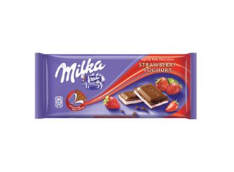 Milka Strawberry Yogurt Chocolate