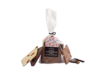 Gourmet Belgian Mixed Chocolate Bark with Nuts & Seeds