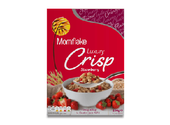 Mornflake Luxury Crisp Strawberry