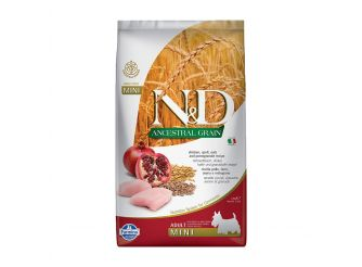 N&D Dry Dog Food, Adult Mini Breed, 2.5-kg, Chicken and Pomegranate