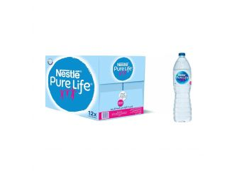 Nestle Natural Water Carton, 1.5 Litre - Pack of 12