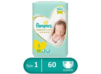 Pampers Premium Care Diapers 60 pieces