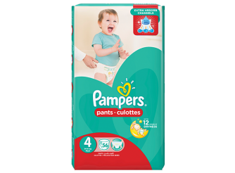 Pampers Pants Diaper Size 4 - 56 PC