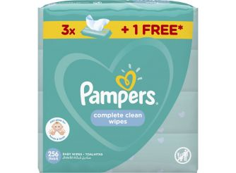 Pampers Complete Clean 256 Wipes