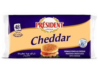 President Cheddar Cheese Slices