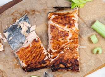 Salmon with Ginger Soy Glaze