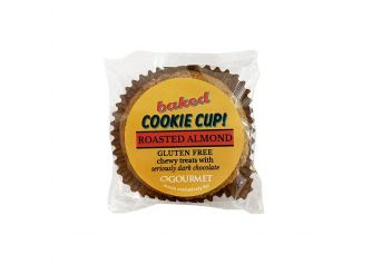 Baked Gluten Free Roasted Almond Cookie Cup