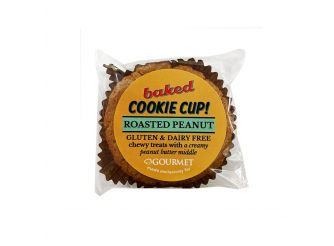Baked Gluten & Dairy Free Roasted Peanut Cookie Cup
