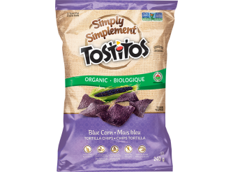 Simply Tostitos Blue Corn Tortilla Chips