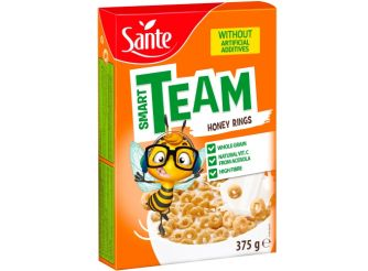 Sante Smart Team Honey Rings Cereal