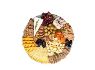 Gourmet Round Cheese Platter - The Foodie - (45 cm)