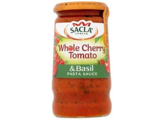 Sacla Whole Cherry Tomato & Basil Sauce