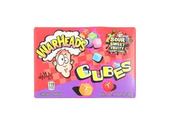 Warheads Sour Sweety Cubes 113g| Gourmet Egypt
