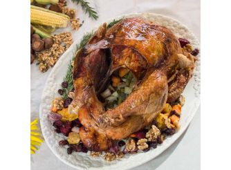 Gourmet Buttered, Marinated & Brined Frozen Whole Turkey