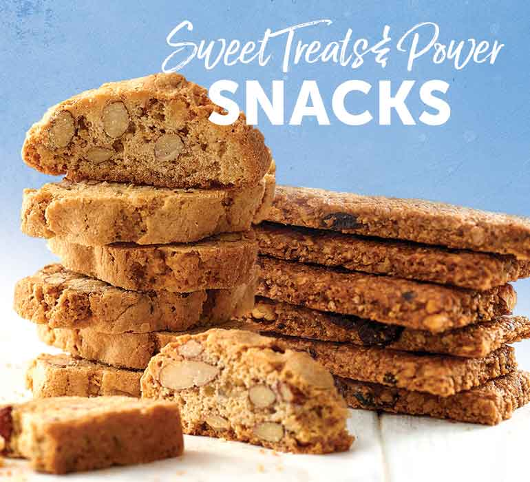 Sweet Treats & Power Snacks