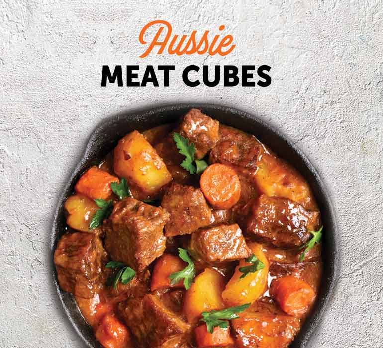 Cubes, Strips & Marinated Meat