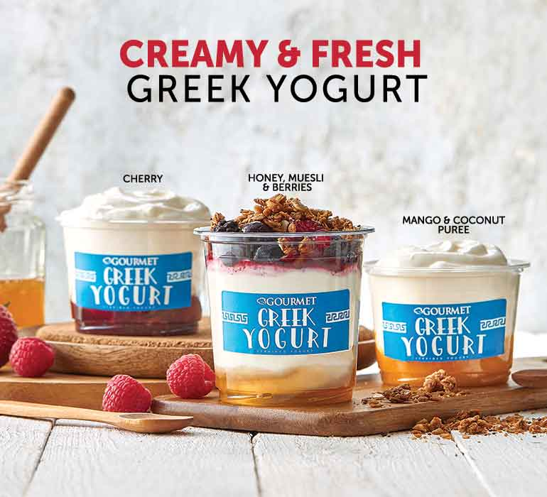 Greek Yogurt & Granola