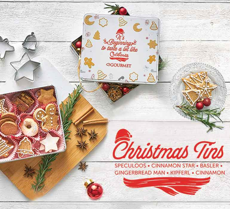 Our Christmas Tins are the perfect Gift!
