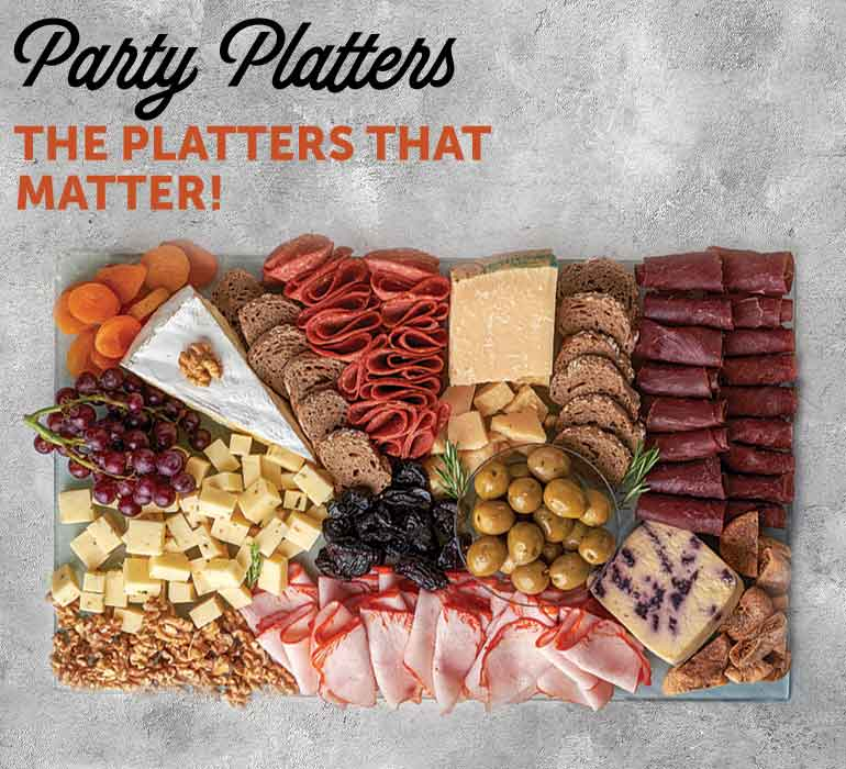 Entertain with our Party Platters