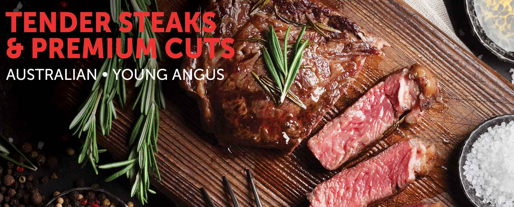 Steaks & Premium cuts